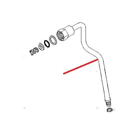 TUBE VAPEUR INOX ORIGINE ASTORIA - NFQ70218568