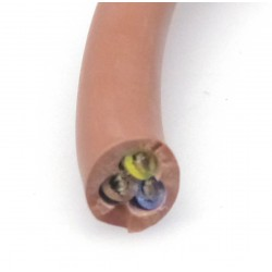 CABLE SILICONE 3X2.5MM2/METRE