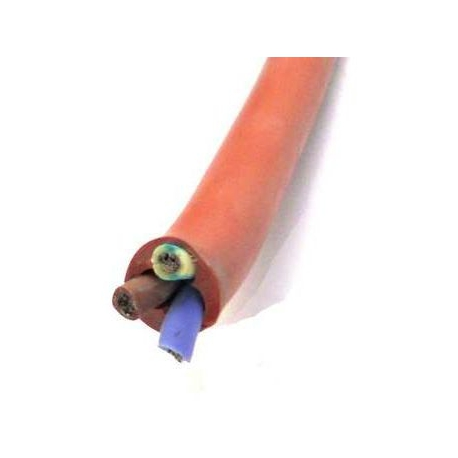 LOT 10M CABLE SILICONE 3X1.5MM - TIQ3166
