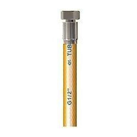 FLEXIBLE TUBOGAZ L:1500MM ENTREE 1/2F SORTIE 1/2F - TIQ70099