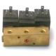 BLOC-3-ELECTROVANNE M&M 1X3VOIES AVEC DECHARGE 14W 24V CC - 61556518N