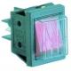 INTERRUPTEUR BIPOLAIRE LUMINEUX 250V 16A ROUGE TMAXI 120°C - TIQ70956