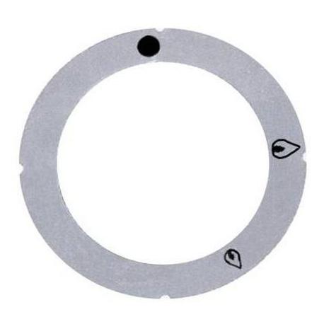 ROSACE ADHESIVE ROBINET GAZ - TIQ7110