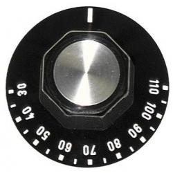 MANETTE NOIRE 50MM 30-110øC - TIQ7140