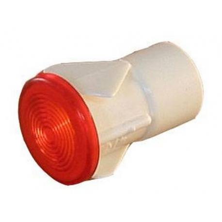DOUILLE POUR LAMPE í12MM ROUGE - TIQ9580