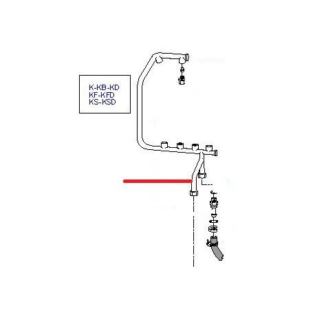 BRAS RINCAGE KF/KFD ORIGINE CIMBALI - PVYQ695