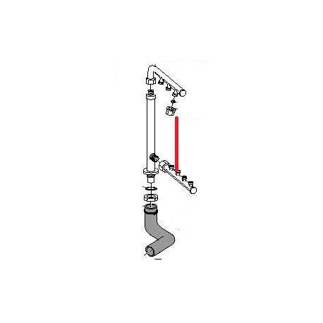 BRAS INFERIEUR LAVAGE KF/KFD ORIGINE CIMBALI - PVYQ603