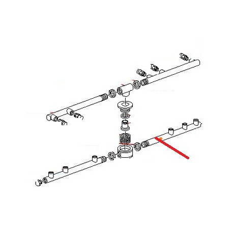 BRAS DE LAVAGE NAF4-RAF4 ORIGINE CIMBALI - PVYQ705