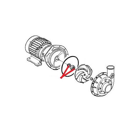 RESISTANCE CHAUFFE EAU 4500W 230V ORIGINE CIMBALI - PVYQ29