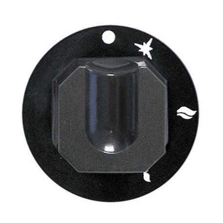 TIQ7497-MANETTE ROBINET DE GAZ AVECAXE í 10X8MM í70MM