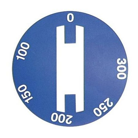 SYMBOLE THERMOSTAT 0-300øC. - TIQ7402