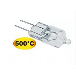 LAMPE HALOGENE TYPE G4 20W 12V TMAXI 500°C