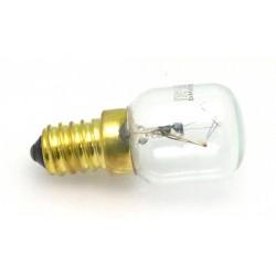 LAMPE DE FOUR E14 25W 230V H:75MM Ø45MM TMAXI 300°C