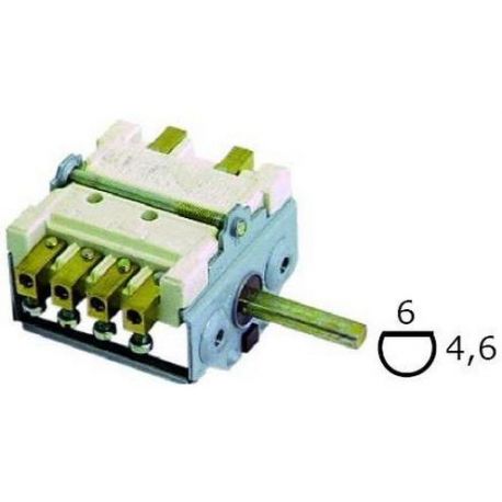 COMMUTATEUR 7 CONTACTS 250V - TIQ8645