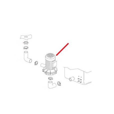 POMPE 2KW 220/380V ORIGINE DIHR - QUQ6861