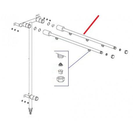 BRAS RINCAGE 3 GICLEURS ORIGINE DIHR - QUQ6800