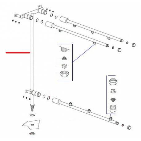 TUBE MONTEE EAU RINCAGE ORIGINE DIHR - QUQ6815