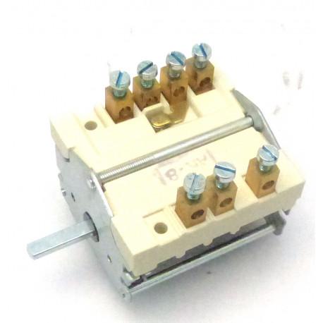 COMMUTATEUR 2PLS 4 POS/250V OR - TIQ8705