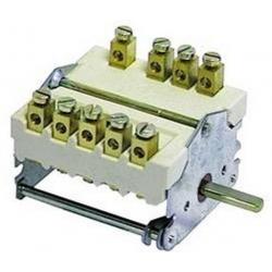 COMMUTATEUR 4POSITIONS 0-1-2-3 3NO/1CO 250V 32A TMAXI 150°C  - TIQ8706