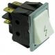 TIQ8718-INTERRUPTEUR BLANC 2P.16A 250V