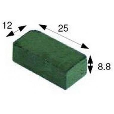 AIMANT MAGNETIQUE L:25MM L:15MM H:9MM - TIQ8967
