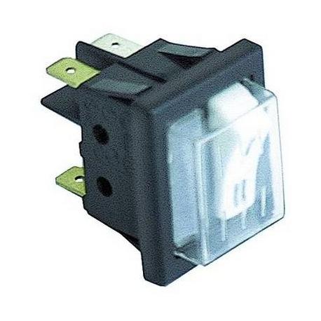INTERRUPTEUR 1 PL+LAMPE TEMOIN - TIQ8070