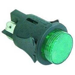 INTERRUPTEUR ELECTROLUX VERT 16A 250V LUMINEUX D/25MM ORIGIN