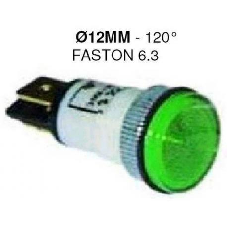 LAMPE TEMOIN VERT 24V ORIGINE - TIQ8334