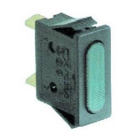 LAMPE TEMOIN VERT 230V - TIQ8462
