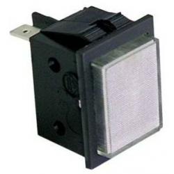 LAMPE TEMOIN BLANC 230V