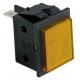 VOYANT ORANGE 230V 30X22MM COSSES 6.3MM - TIQ8429