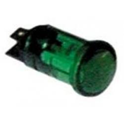 LAMPE TEMOIN VERT 230V