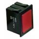 TIQ8445-LAMPE TEMOIN ROUGE 220V