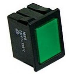 LAMPE TEMOIN VERT 220V 30X22MM