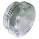 TIQ9673-VERRE DE LAMPE DE FOUR D EXT :72MM DIAMETRE PAS DE VIS 60MM