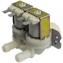 ELECTROVANNE 2VOIES 24V AC ENTREE 3/4M SORTIE 10MM TMAXI 60°