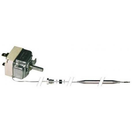 THERMOSTAT 250V 16A TMINI 30°C TMAXI 110°C CAPILAIRE 850MM - TIQ9178