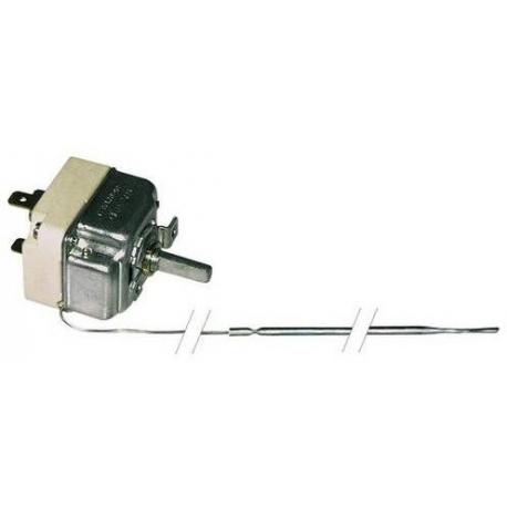 THERMOSTAT 250V 16A TMINI 90°C TMAXI 185°C CAPILAIRE 1300MM - TIQ0997