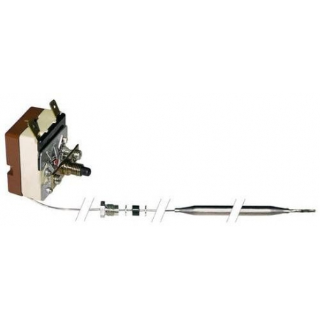 THERMOSTAT 230V 16A TMAXI 246°C MONOPHASE CAPILAIRE 900MM BU - TIQ0935