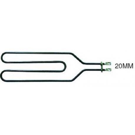 RESISTANCE BAIN MARIE 900W 230V PLONGEUR 300MM ENTRAXE 18MM - TIQ0498
