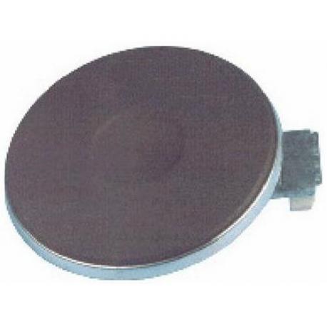 PLAQUE ELECTRIQUE D145MM 1500W - TIQ1238