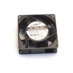 VENTILATEUR AXIAL 80X80X25MM 230V AC CONNEXION FASTON 6.3MM