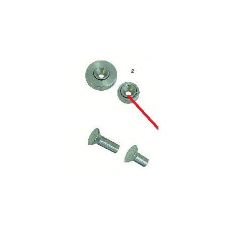 RIVET DE ROULEMENT 19MM - TIQ4066