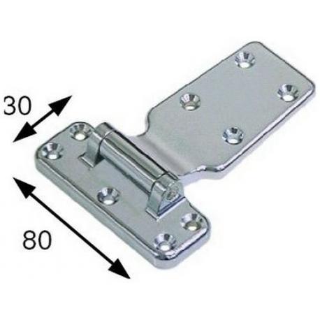 CHARNIERE 30X80MM ORIGINE - TIQ4410