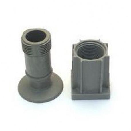 PIED PLASTIQUE COMPLET TUBE - TIQ4427