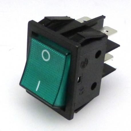 INTERUPTOR 2 POLES LIGHT 0-I 250V 16A L:30MM - IQ045