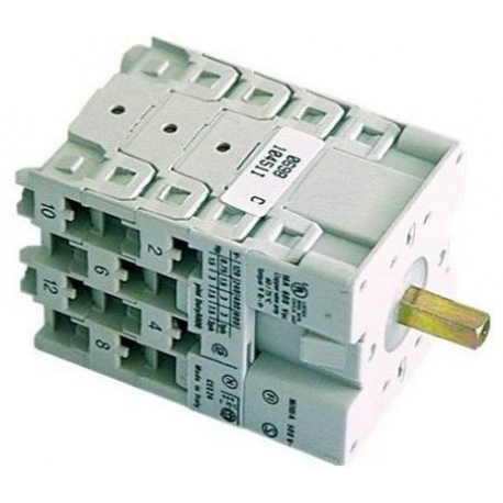 INTERRUPTEUR ON/OFF 16A/600V - TIQ8038
