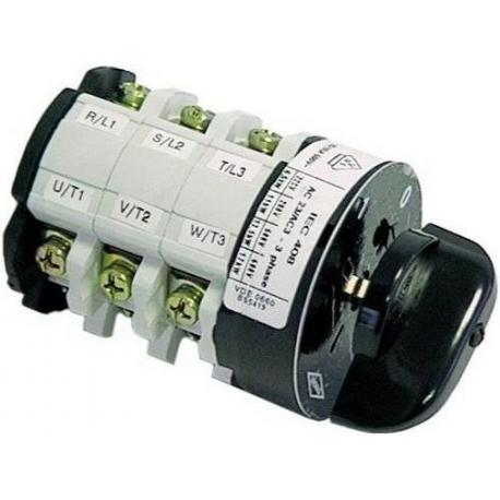 INTERRUPTEUR 6 POLES 25A/500V - TIQ8803