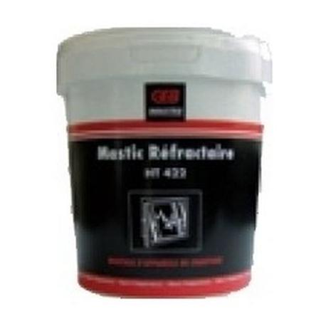 MASTIC REFRACTAIRE NOIR H.T. - TIQ70448