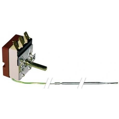 THERMOSTAT 250V 16A TMINI 50°C TMAXI 320°C CAPILAIRE 950MM - TIQ9389
